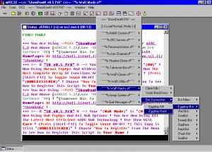 Tappelunnälkäiset Mirc-käyttäjät käyttivät usein Showdown Pron kaltaisia skriptejä, jotka olivat pikemminkin ärsyttäviä kuin oikeasti haitallisia.