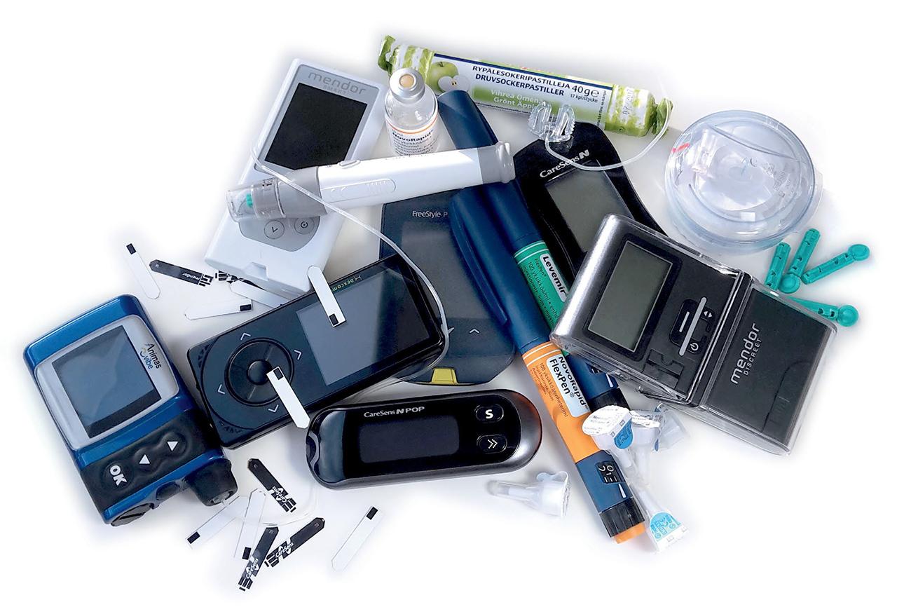 Teknologia diabeetikon apuna - Diabeetikon laukun tyhjennys