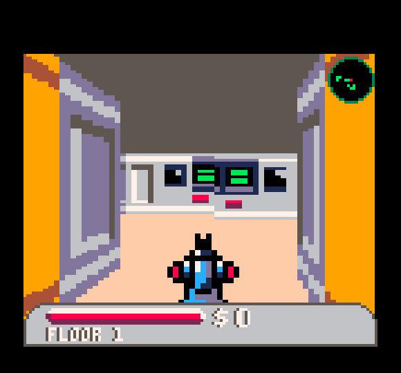 Star Beastin Wolfenstein-tyyppistä perspektiivigrafiikkaa.