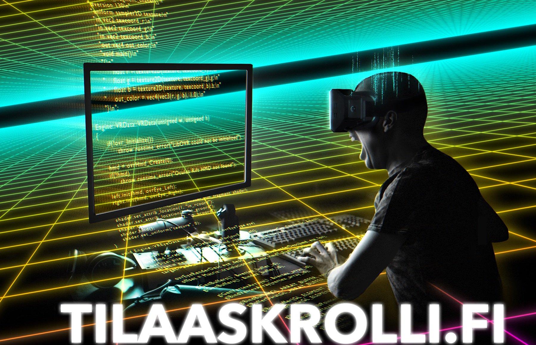 tilaaskrolli.fi - Voita Oculus Rift