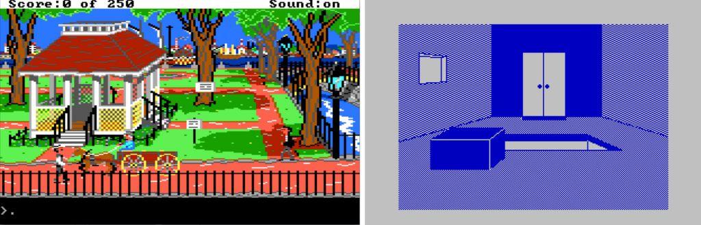 Saman teeman parissa. Sierran Gold Rush! ja ZX Spectrumille tehty Kultakuume.